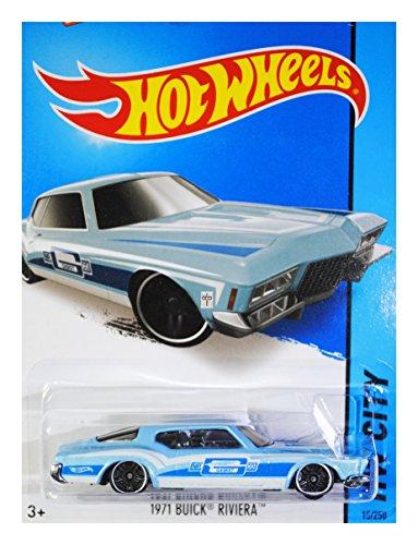 Hot Wheels, 2015 HW City, 1971 Buick Riviera [Light Blue] Exclusive Die-Cast Vehicle #15/250