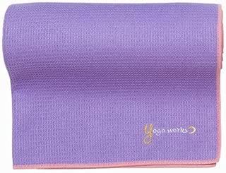 ヨガワークス(Yogaworks) ワッフルヨガラグ フレンチラベンダー YW-A160-C009