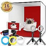Photo Studio Box, FOSITAN 16x16 inch Table Top Photo Light Box Continuous...
