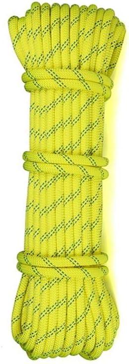 ZHWNGXO Cuerda de Escalada, 14mm Teniendo 3800 Kg for caídos ...