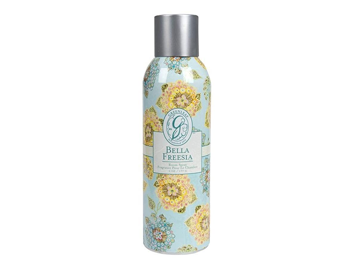舌なかなりのフェリーGREENLEAF ROOM SPRAY BELLA FREESIA