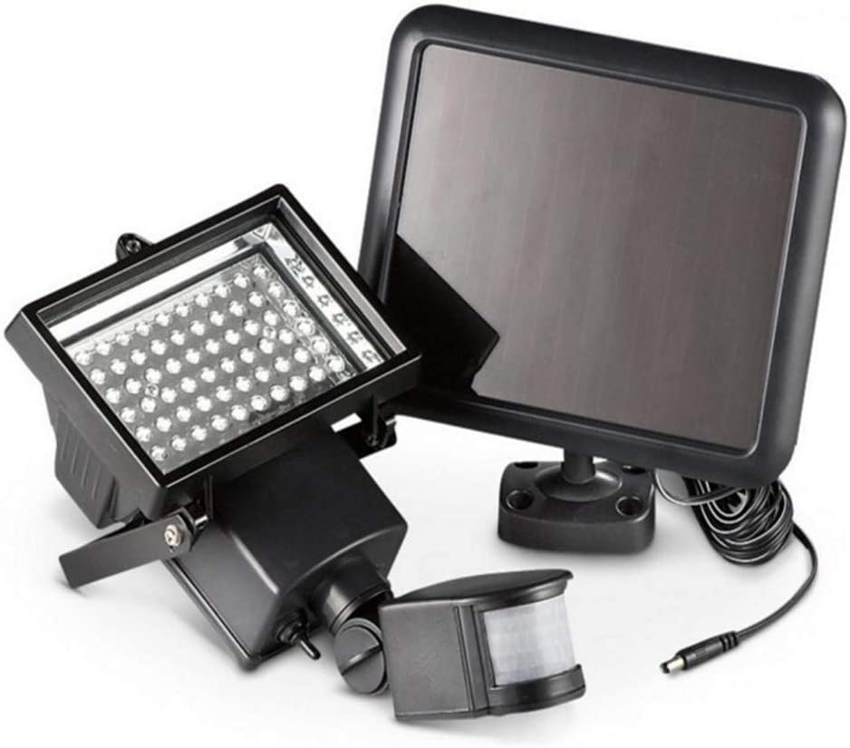 Solar Flood Lights 60LED Discount mail order 220 We OFFer at cheap prices Lumens Outdoor Light IP 3 Control