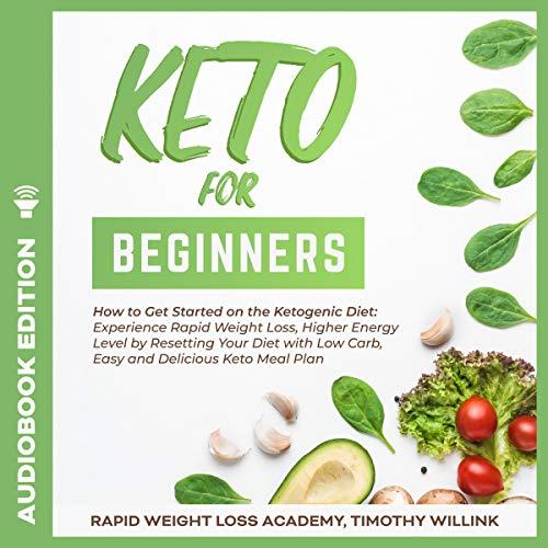 Keto for Beginners cover art