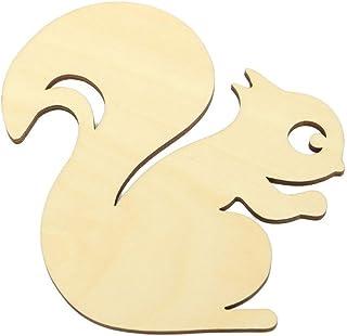 Nalmatoionme mignon en bois écureuil Face à pain Toast Tapis isolant de boissons