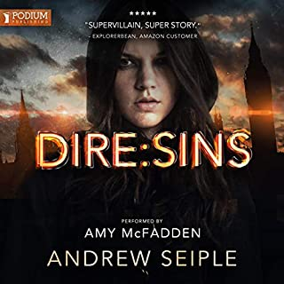 Dire: Sins     The Dire Saga, Book 5              De :                                                                                                                                 Andrew Seiple                               Lu par :                                                                                                                                 Amy McFadden                      Durée : 11 h et 2 min     Pas de notations     Global 0,0