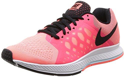 Nike Wmns Air Zoom Pegasus 31 - Zapatos para Mujer, Color Lava Glow/Black-White-Hot Lava, Talla 37.5