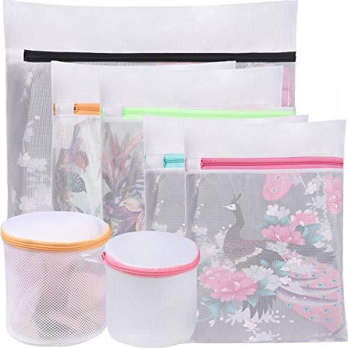 BAGAIL Mesh Laundry Bags Laundry,Blouse, Hosiery, Stocking, Underwear, Bra Lingerie, Travel Laundry Bag (7 Set)