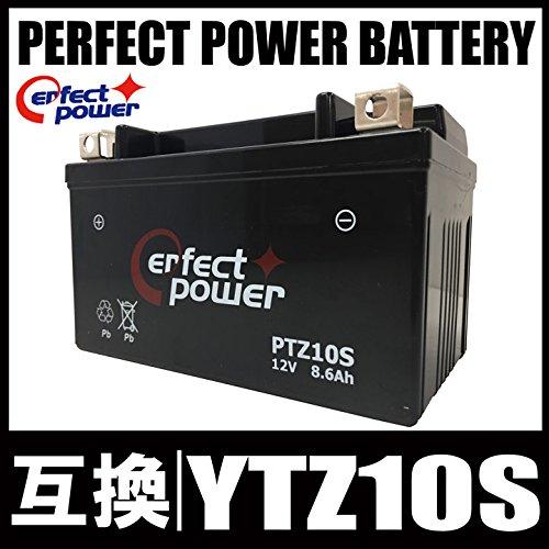 PERFECT POWER PTZ10S バイクバッテリー 【互換 TTZ10S YTZ10S FTZ10S DTZ10-BS】 初期充電済 即使用可能 マグザム YZF-R1 CB400 SF-VTEC YZF-R1 CBR900RR CBR1000RR