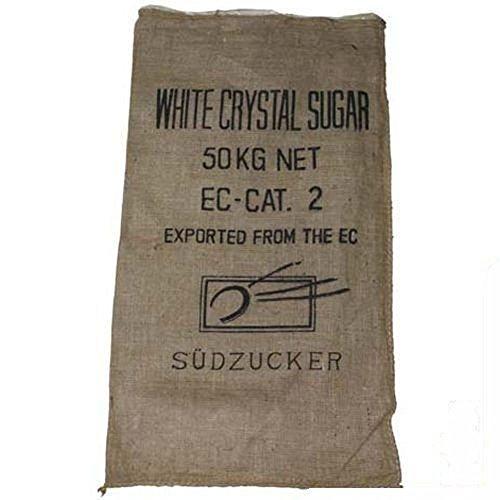 1 Stück Jutesack Zuckersack