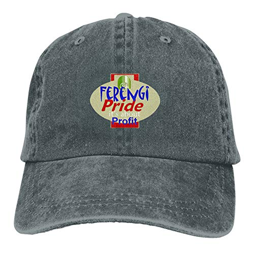 Baseball Caps, Original Exclusive Classic Ferengi Pride Hat with Button and Sweatband Adjustable Tie Hats for Women Men