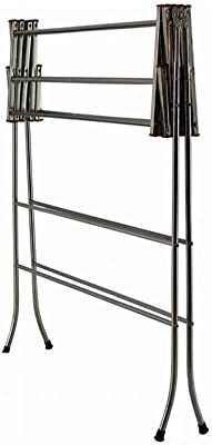 PARASNATH Made in India Stainless Steel Rust and Corrosion Free Lotus Clothes Drying Stand