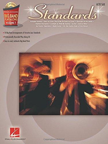 Big Band Play-Along Volume 7: Standards - Alto Sax: Noten, Play-Along, CD für Alt-Saxophon