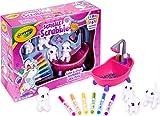 Crayola-CC040050 Mascotas Flocadas, Multicolor, única (74-7249)
