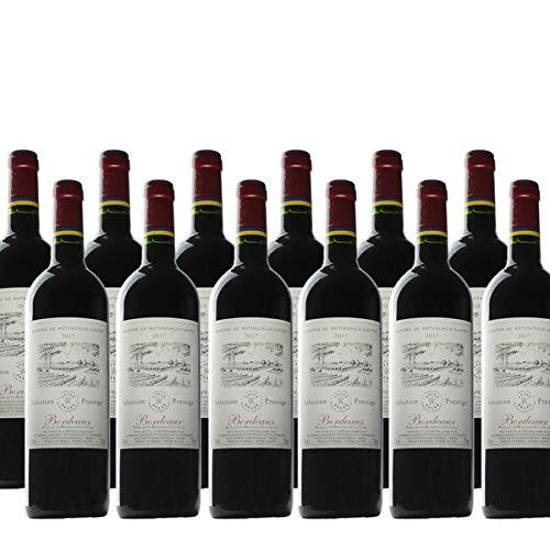 Rotwein Frankreich Bordeaux Sélection Prestige Barons Philippe de Rothschild trocken - 12x0,75L