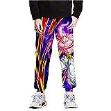 JJZZ Pantalones de deporte para hombre, diseño de dibujos animados, para correr,...