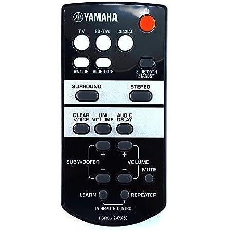 BC74863M Ersatzfernbedienung passend für YAMAHA YAS-107 Soundbar