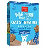 Cloud Star Wag More Bark Less Crunchy Dog Treats Baked in the USA, Oats & Grains, Bacon, Cheese & Apples 16 oz. (Packaging May Vary)