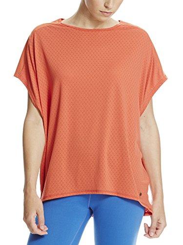 Bench Damen Geo Mesh Tee T-Shirt, Dusty Red, M