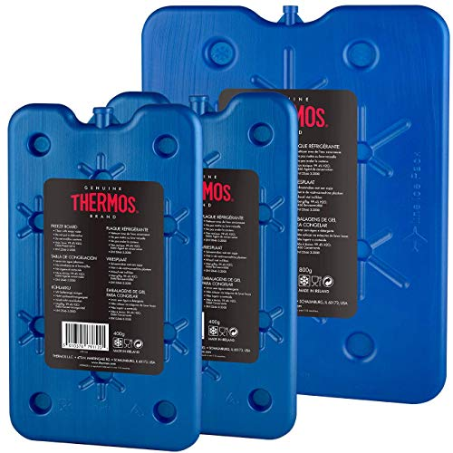 Thermos Pack of 3 Freeze Boards, blau, 1 x 800/2 x 400 g