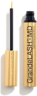Grande Cosmetics GrandeLASH-MD Lash Enhancing Serum, multi, 2ml (3 Month Treatment), 0.068 fl oz, (Pack of 1)