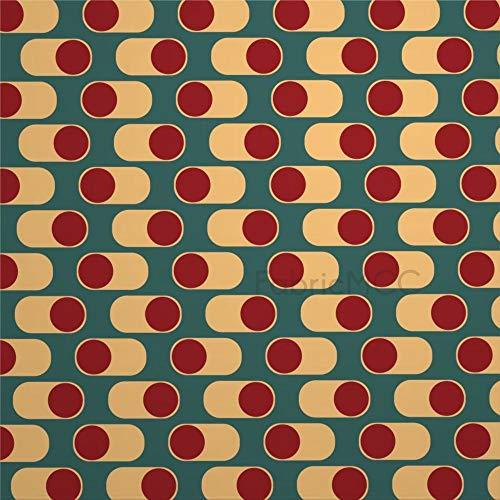 daoyiqi Juego de adhesivos decorativos para azulejos, diseño contemporáneo, 45,7 x 45,7 cm, vinilo resistente al agua, 12 unidades