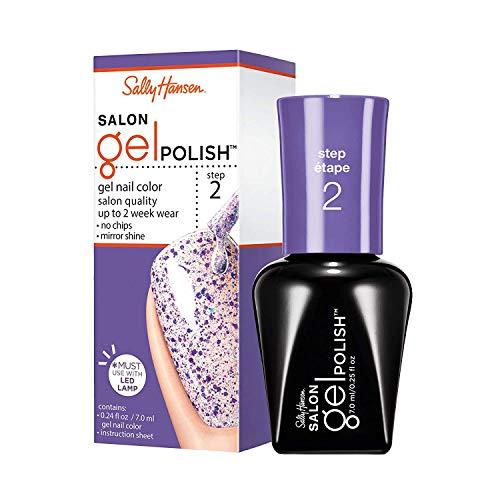 sally hansen gel nail kits Sally Hansen Salon Gel Polish Nail Lacquer, Purple Prisms, 0.14 Fl Oz