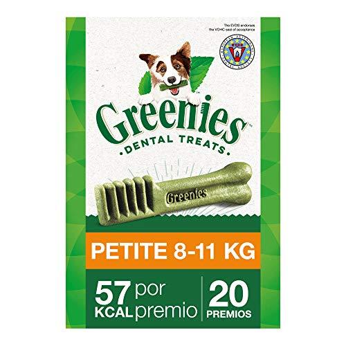 Greenies Snack Dental 100% Natural para Perros Pequeños (Pack de 6 x 340g)