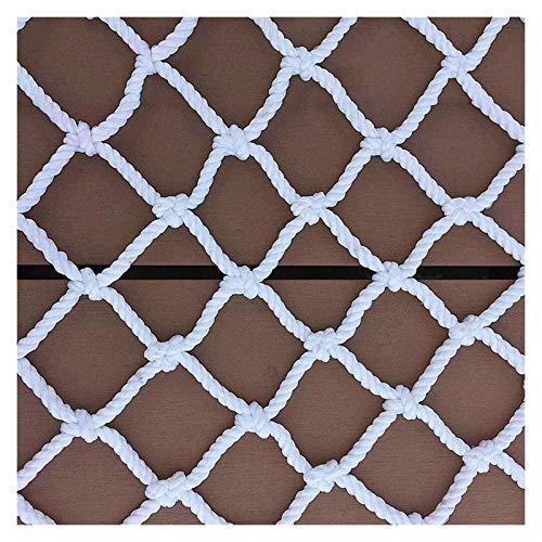 Ladungssicherungsnetze Spielplatz Schutznetz for Kinder, Garten Netting-Zaun-Dekor Mesh-Netze Innensicherheitsnetz (Size : 4x8M(13X26FT))