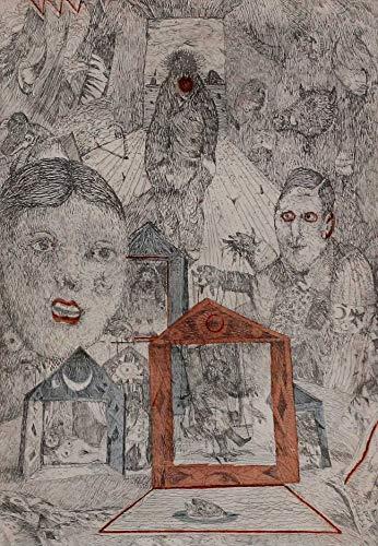 Antonio Possenti, Le marionette, 1978, Aguafuerte aguatinta firmada y numerada