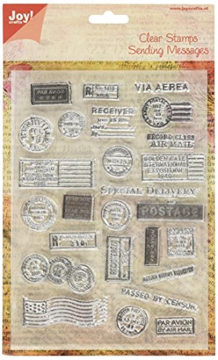 Joy! Crafts Clear Stamp, 6 X 8-Inch, Postcard