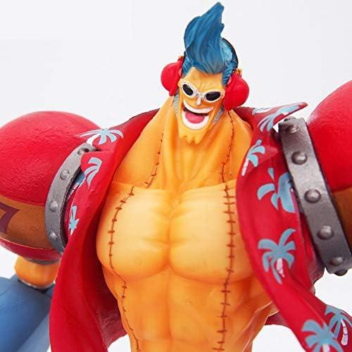 marcas de moda Zhizaibide One One One Piece Modelo Rey Franco Luffy Modelo de Pareja Decoración 18 cm Estatua Anime Realista añornos Cumpleaños muñeca  oferta especial