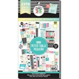 me & my BIG ideas Sticker Value Pack for Mini Planner - The Happy Planner Scrapbooking Supplies - Fitness Theme - Multi-Color & Gold Foil - Great for Projects & Albums - 30 Sheets, 1939 Stickers