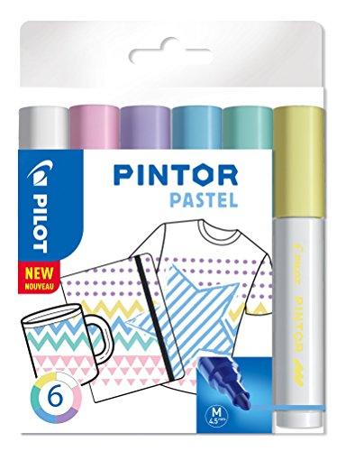 Pilot Pigmentmarker Pintor, fein M verschiedene Pastellfarben