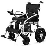Equipo diario Silla de ruedas eléctrica de movilidad pesada plegable portátil Silla de ruedas eléctrica ligera 360 grados;Sillas de ruedas motorizadas Joystick Scooter para ancianos discapacitados