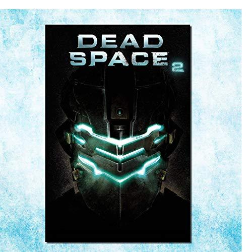 Dead Space 2 3 Hot Video Game Art Canvas Poster Wall Pictures para la decoración de la sala de estar-60x80cm Sin marco