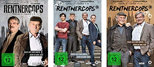 Rentnercops - Staffel 1-3 (10 DVDs)