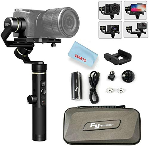 Feiyu G6 Plus 3-Axis Portable Handheld Gimbal Stabilizer (G6 Upgrade Ver 2018) for...