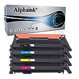 Alphaink 4 Toner Compatibili con Samsung CLT-K406S CLT-C406S CLT-M406S CLT-Y406S per stampanti Samsung Xpress C460FW C410W C460 CLP-365 CLP-365W CLP-360 CLX-3305 CLX-3305FW