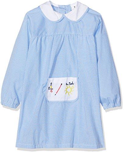 Alber Baby Colegial, Babi de colegio para Bebés, Azul, 1 año