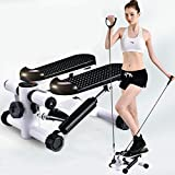 Mokshith Indoor Mini Pedal Exerciser Under Desk Bike Elliptical Machine with Built in Display Monitor, Mini Desk Cycle Resistance Exercise Quiet & Compact