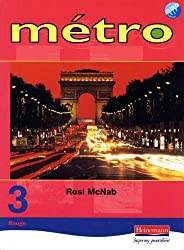 Metro 3 Rouge: Pupil Book - Revised Edition (Metro)