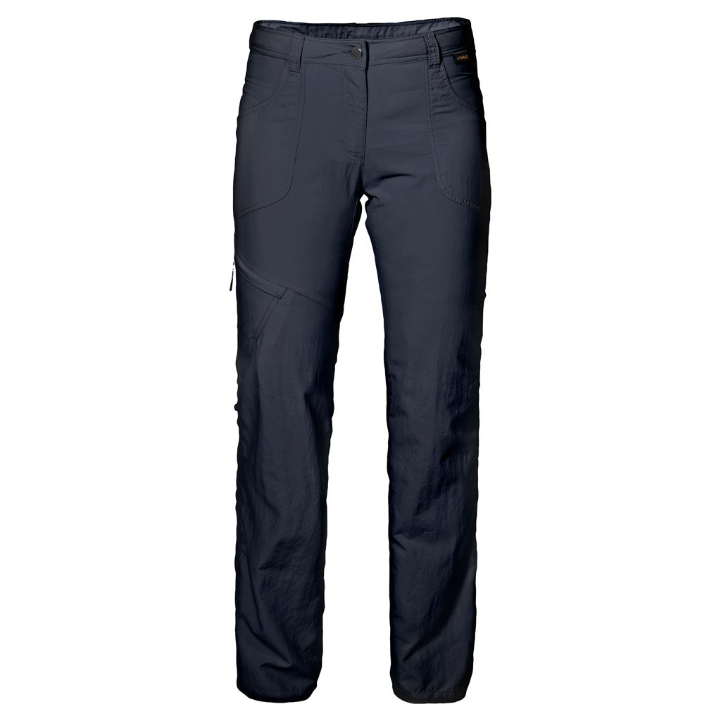 Jack Wolfskin 女式 Marrakech 卷边裤 Size 40 (US 31/31) 黑色 1503691-1910