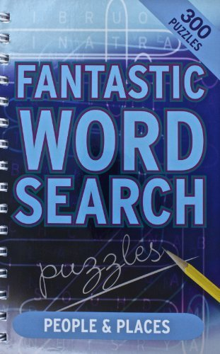 Fantastic Wordsearch People Places