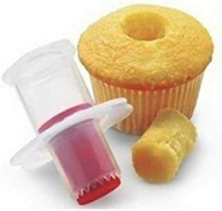 Gijoki Cake Punch Hole Decorative Divider Filling Tool Cupcake Corer Remover Candy Making Molds