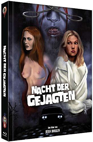 Nacht der Gejagten - La Nuit des traquées [Blu-Ray+DVD] - uncut - auf 300 Stück limitiertes Mediabook Cover C