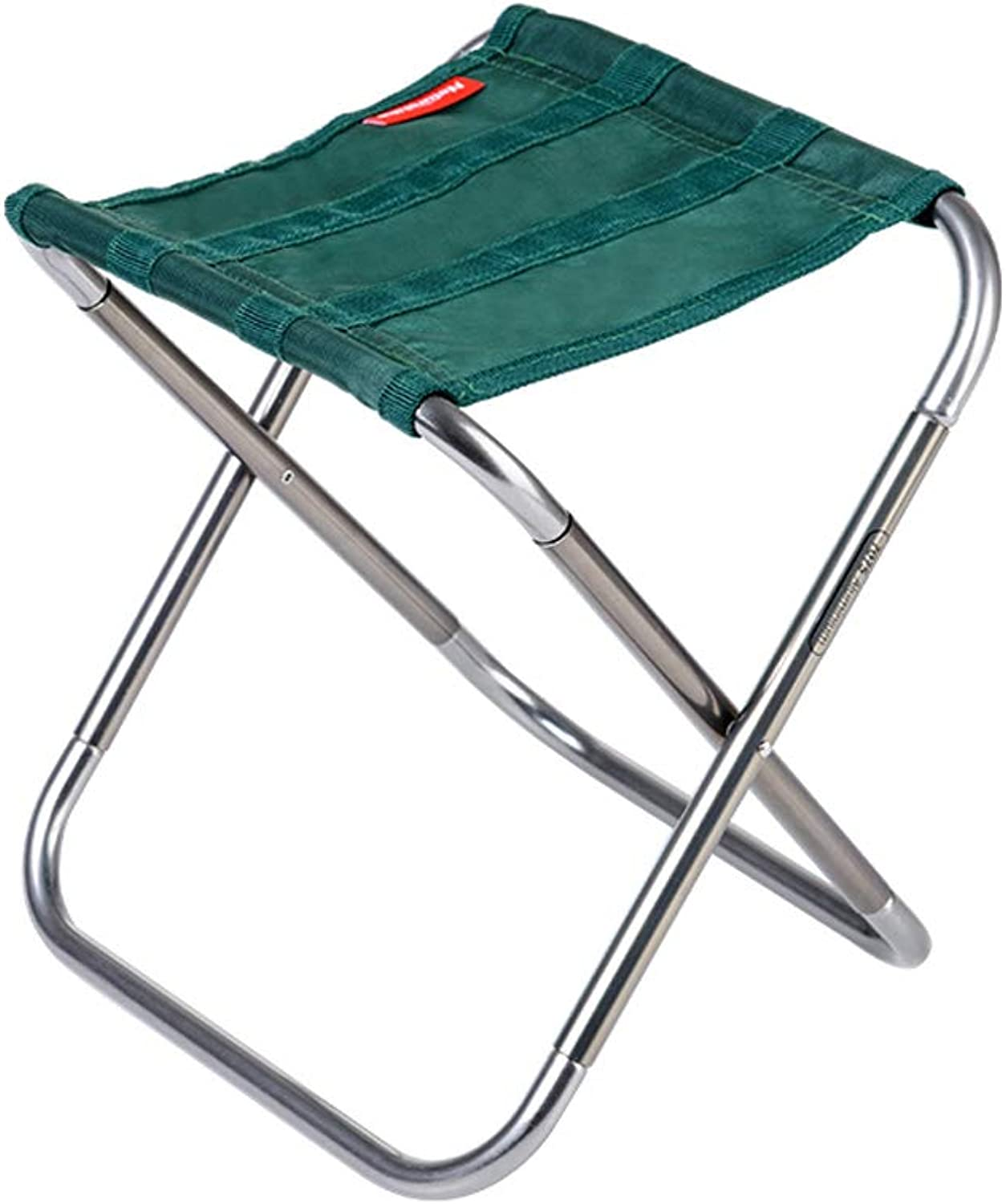 MXD Stool Folding Stool Portable Outdoor Folding Chair Fishing Chair Green