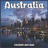 Australia Calendar 2021-2022: April 2021 Through December 2022 Square Photo Book Monthly Planner Australia, small calendar