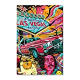 NCCDY Art Fear And Loathing in Las Vegas Poster,