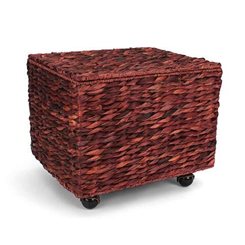 wicker file basket - 4