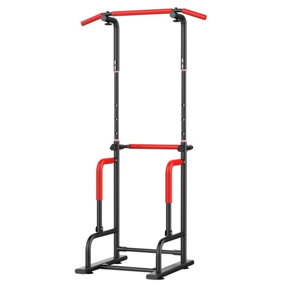 Yuefensu Máquina Multifuncional de Gran Capacidad for Ejercicios de Entrenamiento con Pesas Dip Home Gym Barra paralela de Fitness (Color : White, Size : 95 * 60 * 55CM): Amazon.es: Hogar
